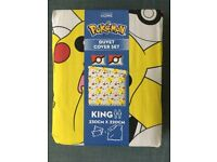 Brand New King-size Pokemon Bedding for sale!