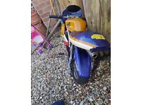 07522476505 Mini motor works fine just needs a petrol cap can still ride without it 2 stroke £85