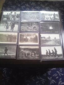 Old postcards daily mail war photographs