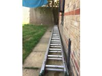 Big double ladder