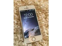 Apple IPhone 5s Rose Gold - no working camera or wifi -SPARES/PARTS new screen