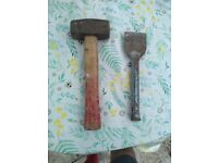 Napping Hammer & Chisel
