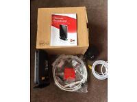 Virgin super hub VMDG480 in box with accessories