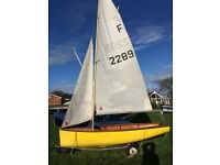 Firefly sailing dinghy