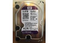 Western Digital 3tb internal hard drive