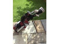 Wilson Junior Golf Clubs and Bag
