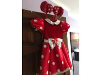 Minnie Mouse girls dress up