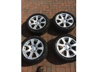 Winter Tyres and Alloy Wheels 205/55 R16