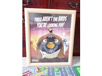 FREE Angry Birds Star Wars large wall picture