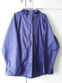 REGATTA HOODED WATERPROOF JACKET SIZE 16 (Ladies)