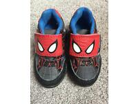 Spider-Man Trainers - Infant Size 4