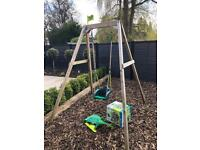 TP Toys swing with 4-in-1 Quadpod Baby Seat