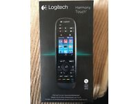 ONLY £80!!! LOGITECH HARMONY TOUCH UNIVERSAL REMOTE CONTROL.