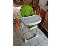 Baby high chair Prima Pappa Zero 3 green