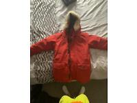 Authentic red Canada goose Langford size large
