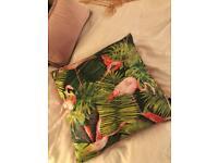 Flamingo cushion by Paoletti