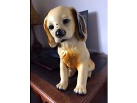 Vintage spaniel dog ornament