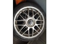 Volkswagen golf 25th anniversary alloy wheels