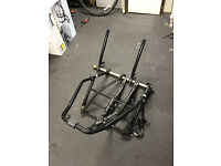 Rear Mounted Spare Wheel Cycle Carrier (for 4x4 vehicles) Standish nr Wigan