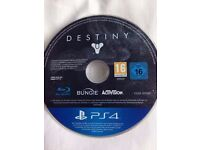 Destiny for the PS4 disc only