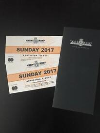 2 x Sunday Festival Of Speed 2017 tickets