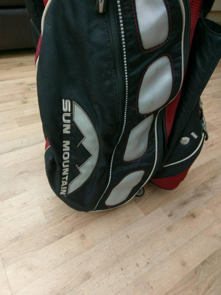 Sunmountain golf cart bag