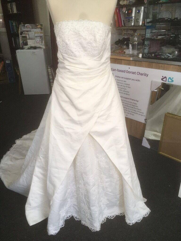 Wedding dress for sale at Prama Charity Shop Kinson | in Bournemouth ...