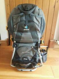 Deuter baby backpack carrier