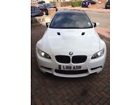BMW M3 replica e92 2008 320i coupe alpine white HPI clear FSH 81,000 A5 C63 RS5