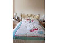 Double Bed with Base - Nearly New!!!
