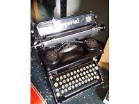 Imperial typewriter ( vintage)