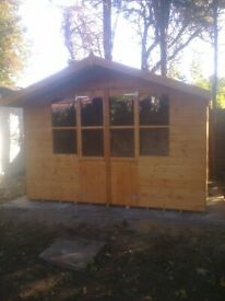 10X8 Summer House style Garden Shed