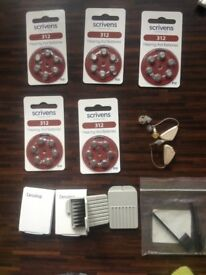 FREE Hearing Aids 30 Batteries & 32 Cerustop wax guards