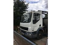DAF LF45.150 Dropside with HIAB