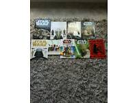 Bundle of Star Wars books and annuals