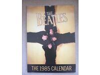 THE BEATLES 1985 Calendar. Original in mint condition.