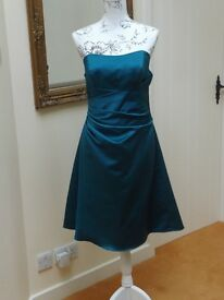 Alfred Angelo Bridesmaid/Prom/Christmas Dress - Teal - Size 14