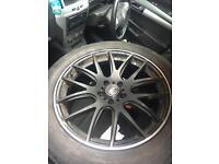 Range Rover bmw x5 VW touran van alloy wheels
