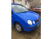 VW polo 2003 spares or repairs
