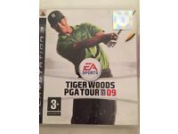 Play Station 2 video game. Tiger Woods PGA Tour 09 aged 3+