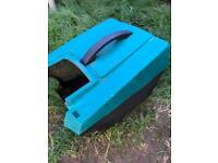 Bosh Rotak electric lawnmower 32 R grass cutter box
