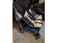 Chicco double buggy