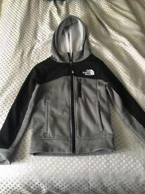 Boys North Face fleece zipper