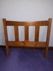 Single wooden single bed frame