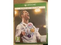XBOX ONE. FIFA 18. RONALDO EDITION.