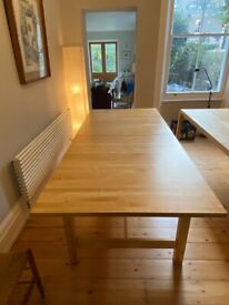 Large IKEA Norden Dining Table