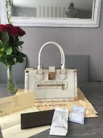Louis Vuitton Le Fabuleux Suhali in White (Le Blanc) genuine reciepts