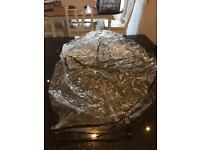 Double Buggy (side by side) Rain Cover in excellent condition