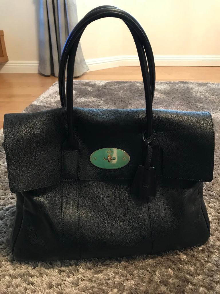 Mulberry Bayswater Black genuine bag  7d8758bab5066