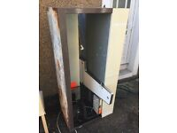 Old scrap refrigerated display unit